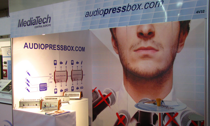 AudioPressBox - ISE 2012