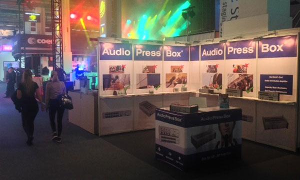 AudioPressBox - Prolight+Sound - 2014