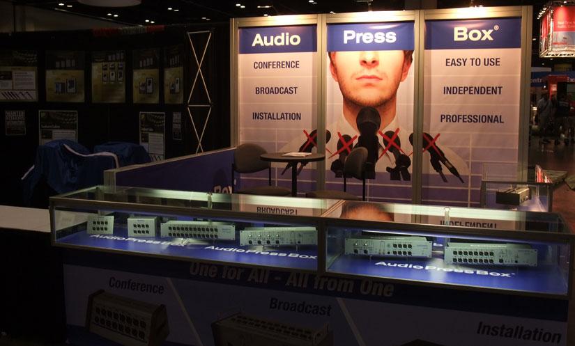 AudioPressBox infoComm 2013