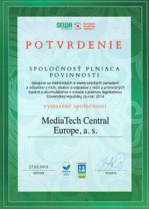 certifikát sewa