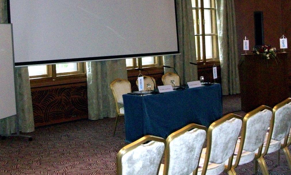 projekčné systémy hotel Kempinski