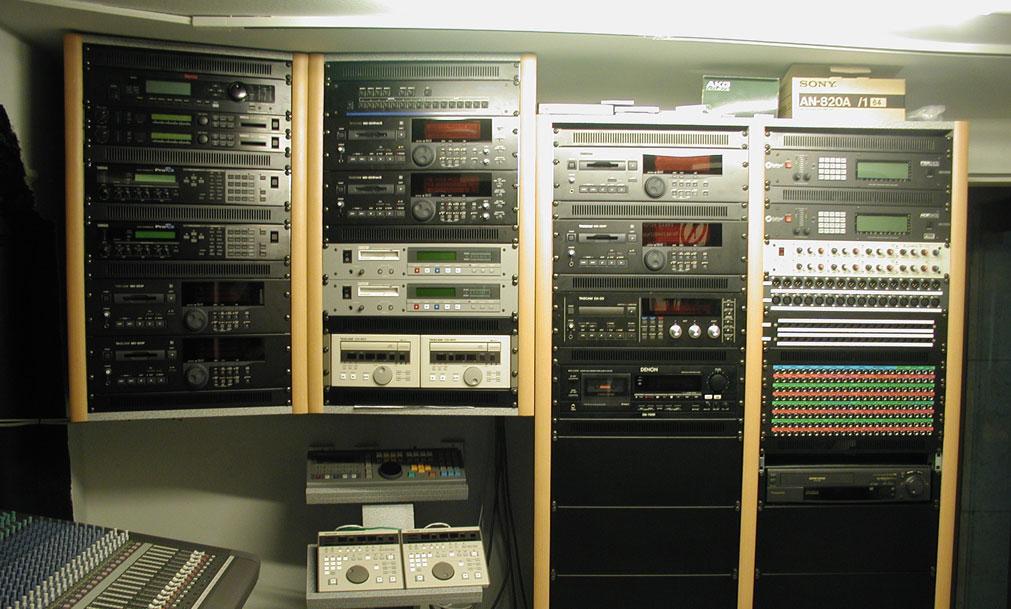 nahrávacie štúdio SND