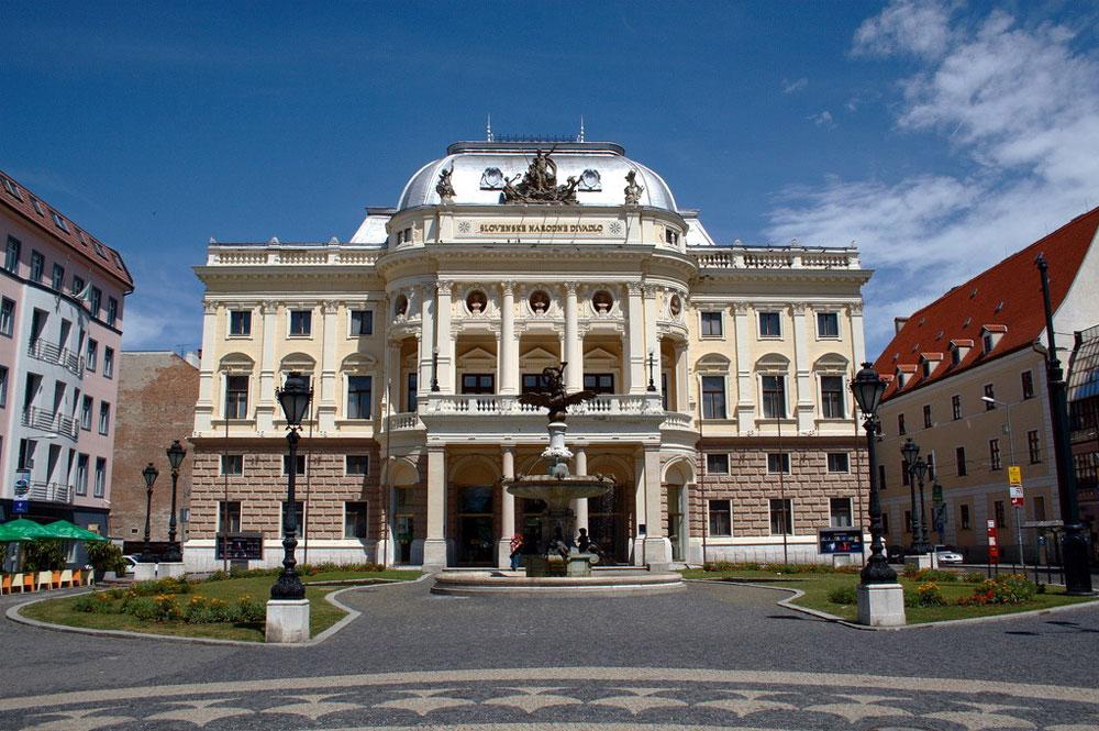 Exteriér Slovenského národného divadlo
