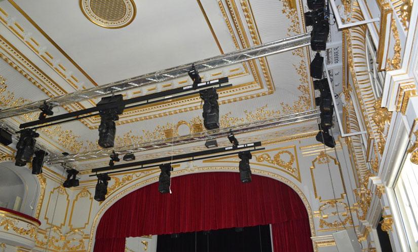 Rekonštrukcia štátneho divadla Košice Malá scéna