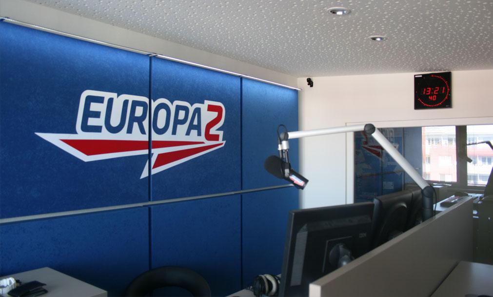 akustika a ozvučenie - Europa 2