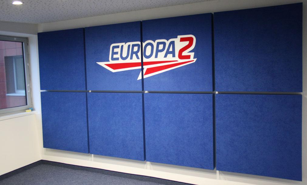 akustika v rádiu Europa 2