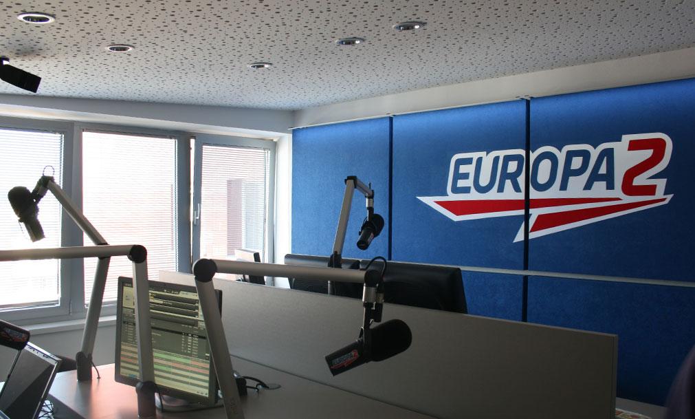 štúdio rádia Europa 2
