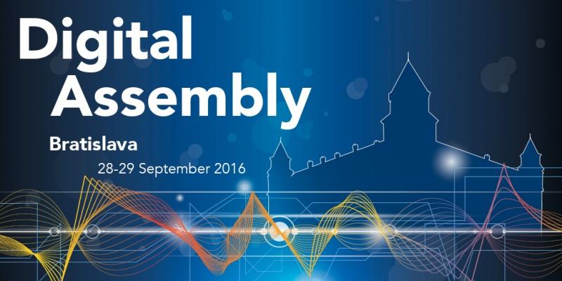 Konferencia Digital Assembly - ozvučenie