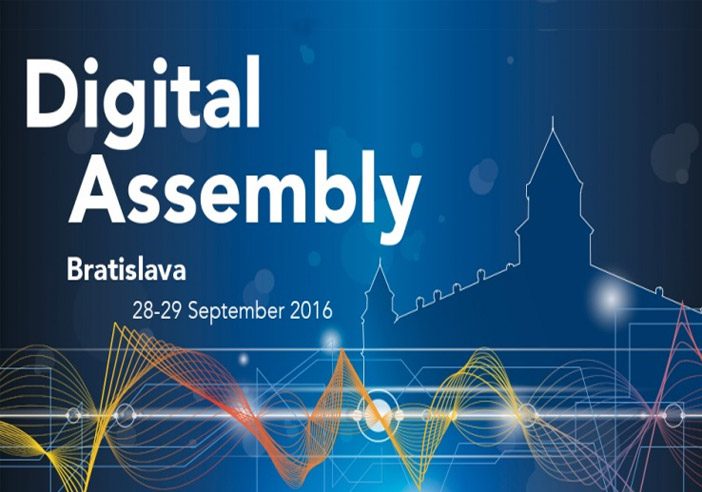 digital assembly banner