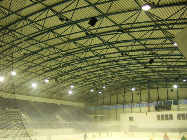 zimný štadión Púchov - hala