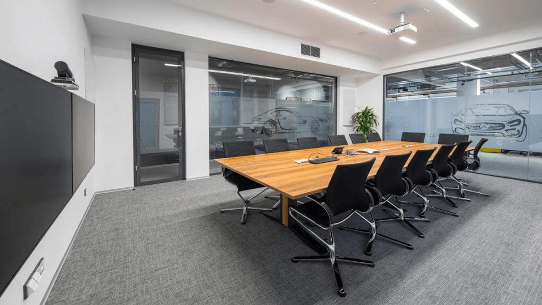 ozvučenie kancelárskych priestorov