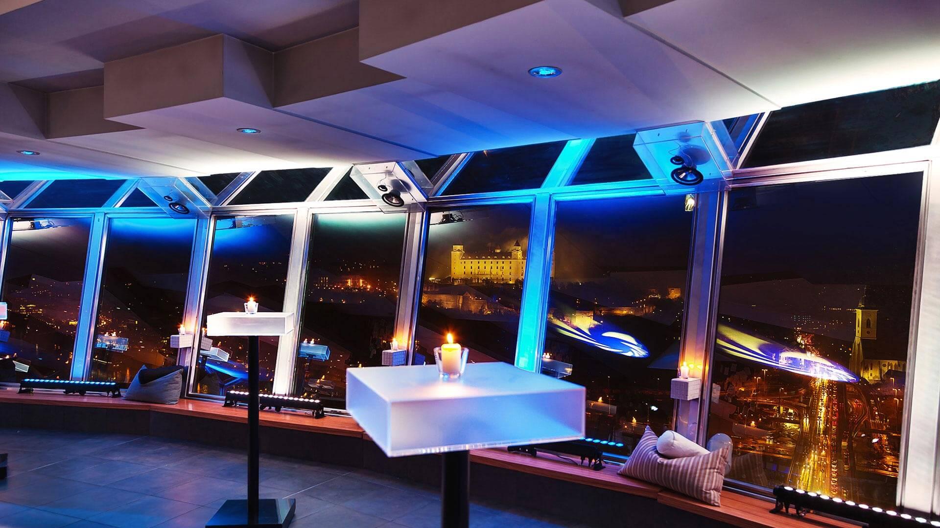 Riesenie Ozvucenia UFO restaurant - MediaTech