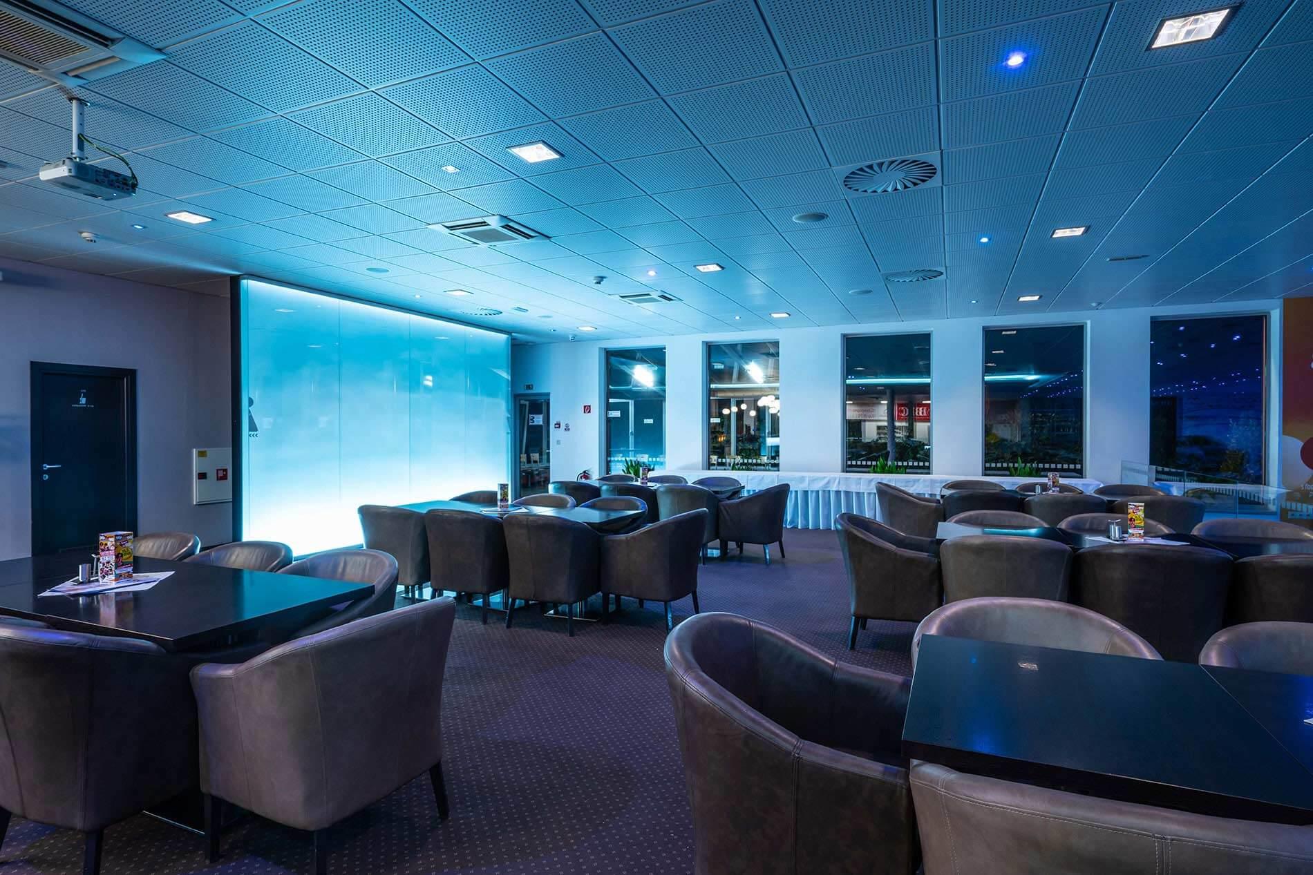 Narodne bowlingove centrum, videoprojekcia - MediaTech