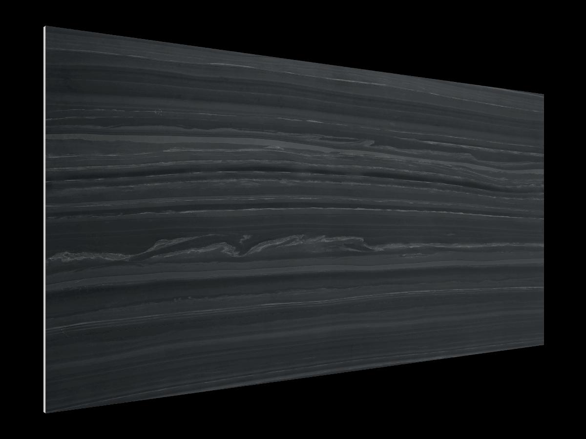 akustický panel prírodný kameň - čierny hematit